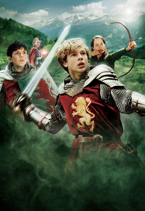Die Geschwister Peter, Susan, Edmund und Lucy versuchen Narnia vor der weißen Hexe zu retten ... - Bildquelle: Disney Enterprises. All rights reserved