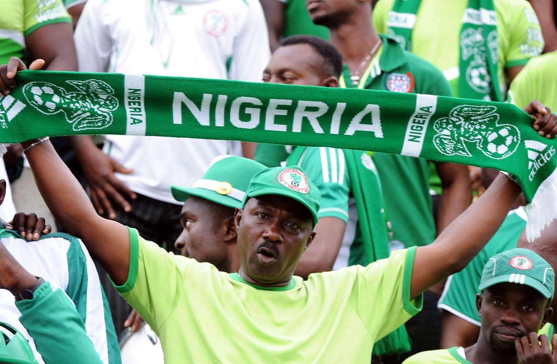 Fussball-Fans-Nigeria-130907-AFP - Bildquelle: AFP