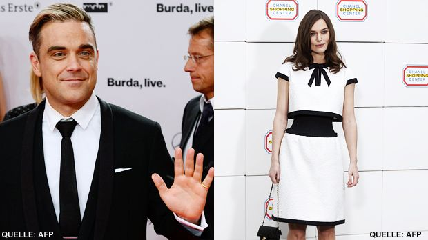 TOP Robbie Williams FLOP Keira Knightley - Bildquelle: AFP / AFP