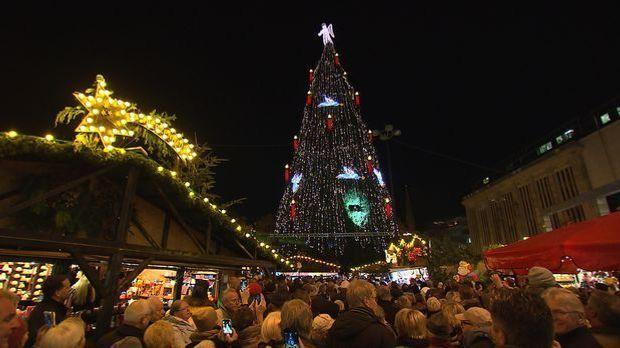 Größter Weihnachtsbaum