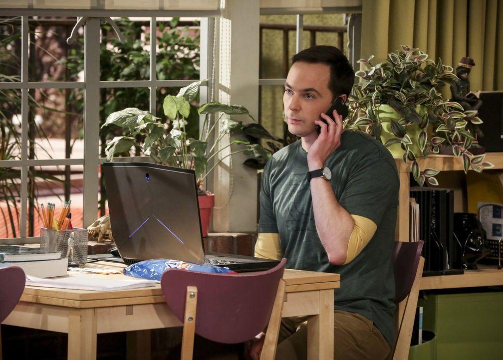 Während sich all seine Freunde neuen, spannenden Projekten zuzuwenden scheinen, langweilt sich Sheldon (Jim Parsons), denn er hat grade nicht viel z... - Bildquelle: Warner Bros. Television