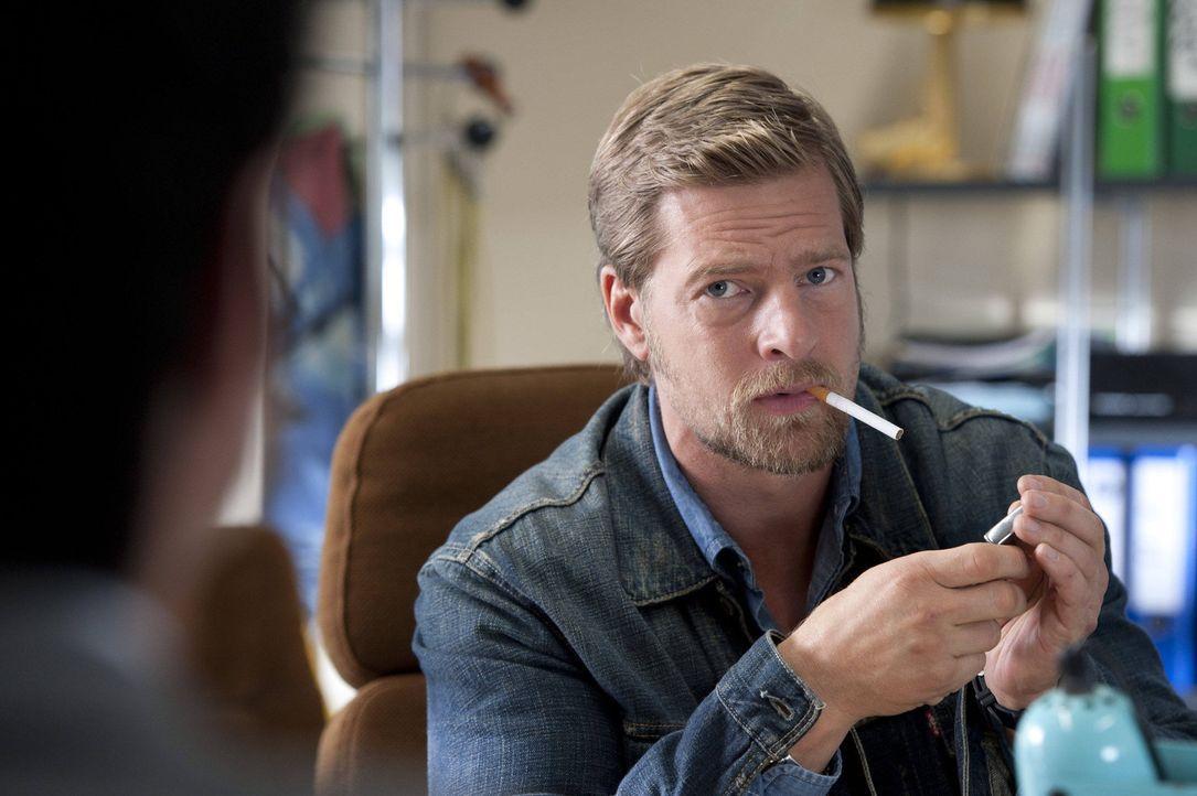 Hat kein Interesse daran, Fercherts Nachfolger zu werden: Mick Brisgau (Henning Baum) ... - Bildquelle: SAT.1