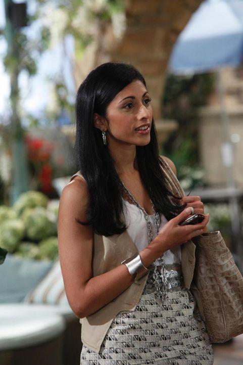 Während Hank und Evan versuche, die finanzielle Situation in den Griff zu bekommen, muss Divya Katdare (Reshma Shetty) sich um den reibungslosen Abl... - Bildquelle: Universal Studios
