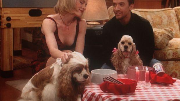 Bud (David Faustino, r.) hat für den einsamen Lucky ein Hunde-Rendezvous arra...
