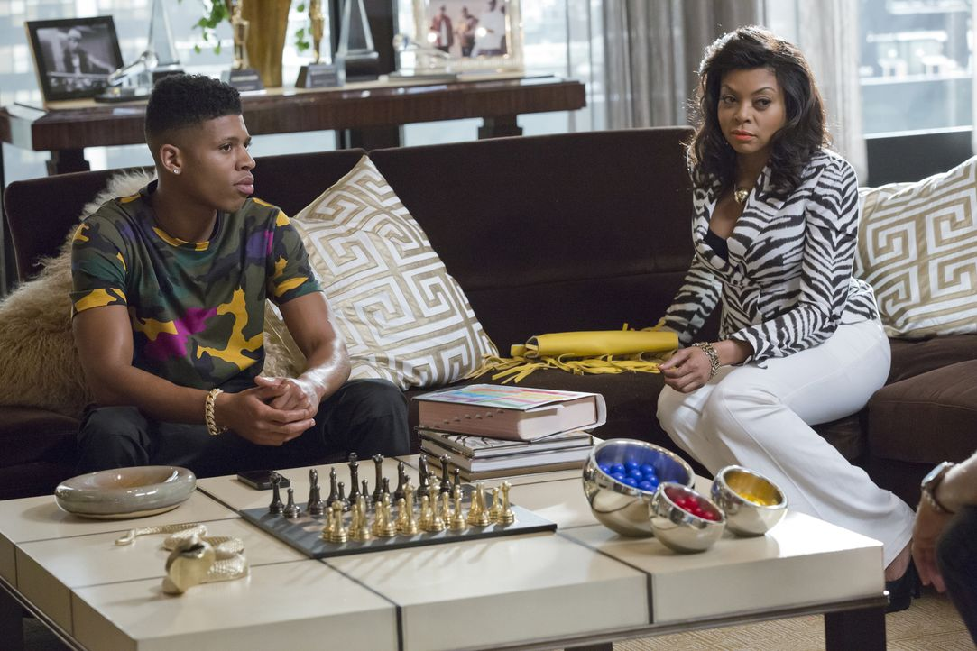 Müssen einen Gegenschlag von Lucious hinnehmen: Hakeem (Bryshere Y. Gray, l.) und Cookie (Taraji P. Henson, r.) ... - Bildquelle: Chuck Hodes 2015-2016 Fox and its related entities.  All rights reserved.