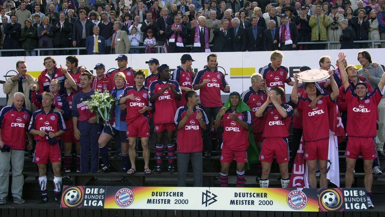 FC Bayern München (Saison 1999/2000) - Bildquelle: Imago