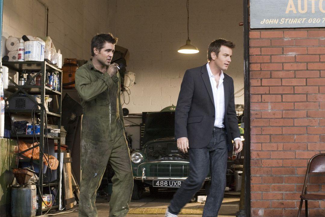 Terry (Colin Farrell, l.) arbeitet als Automechaniker und ist pokersüchtig. Das teure Hobby ist ihm nun über den Hals gewachsen. Wird ihm sein Bru... - Bildquelle: Constantin Film