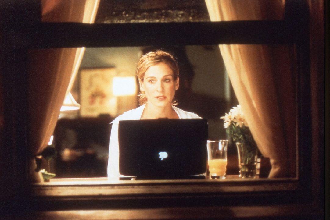 Carrie (Sarah Jessica Parker) macht sich Gedanken über ihre Reise nach San Francisco. Ob es zu dem erhofften sexuellen Intermezzo mit Big kommen wi... - Bildquelle: Paramount Pictures
