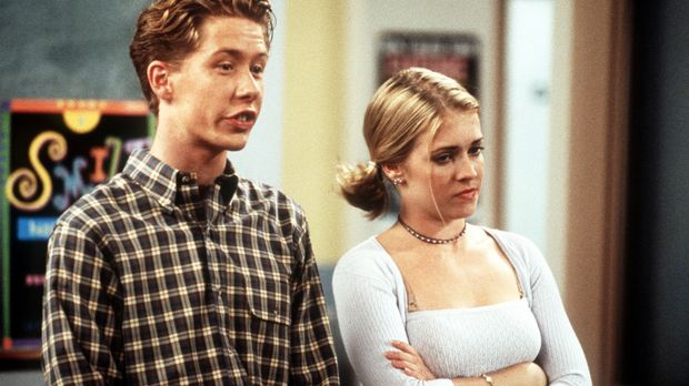 Für ein Schulprojekt werden Ehepaare gebildet. An Harveys Stelle hat Sabrina...