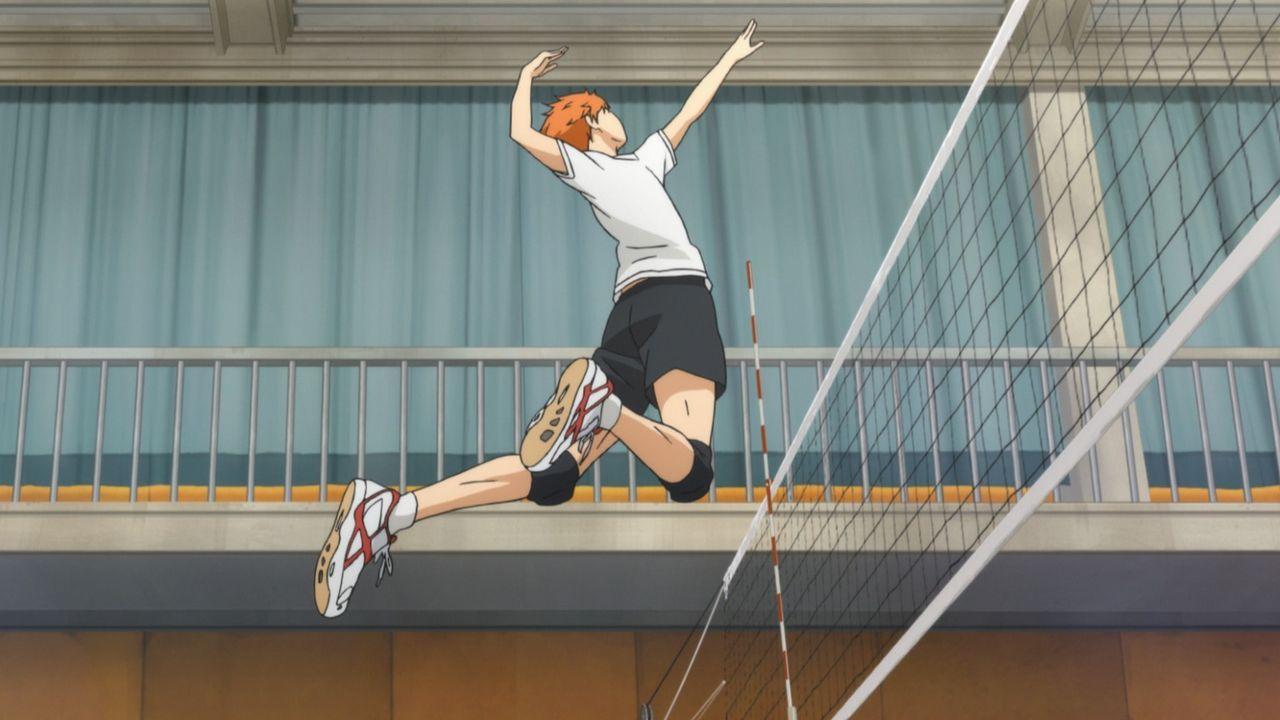 Hinata - Bildquelle: H. Furudate / Shueisha, HAIKYU!! Project, MBS