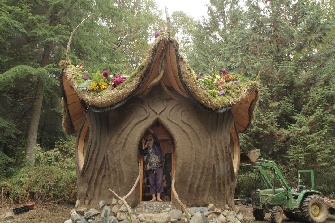 Wunderschön und nur aus natürlichen Zutaten: das ungewöhnliche Lehmhaus ... - Bildquelle: 2015,DIY Network/Scripps Networks, LLC. All Rights Reserved