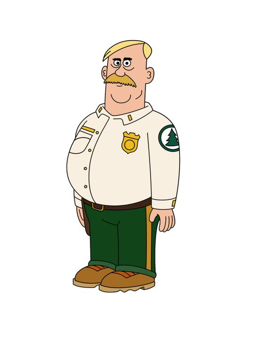 (2. Staffel) - Woody ist der Chef des Brickleberry Nationalparks. Mit seinen Angestellten hat er es nicht immer leicht ... - Bildquelle: 2013 Twentieth Century Fox Film Corporation and Comedy Partners. All rights reserved.