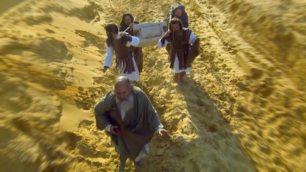 Hat wirklich der Stamm Dan das heilige Jakobskissen mitgenommen, als die Assyrer im 6 Jh. v. Chr. in Israel einfielen? Historiker Adrian Gilbert gla... - Bildquelle: WMR