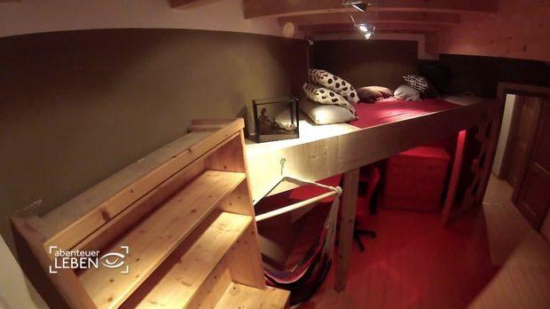 abenteuer leben video diy hochbett schnell und g nstig kabeleins. Black Bedroom Furniture Sets. Home Design Ideas
