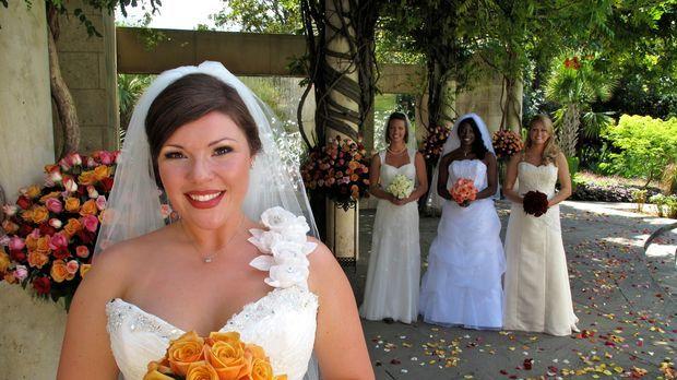 Welche Braut trägt das schönste Kleid? Wer hat die leckerste Hochzeitstorte?...