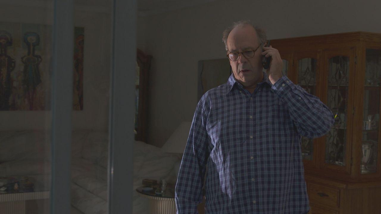 Er kann es kaum glauben: Bill Heylinger erfährt, dass die Polizei nach 18 Jahren endlich den Mörder seiner Frau Susan gefasst hat. - Bildquelle: LMNO Cable Group