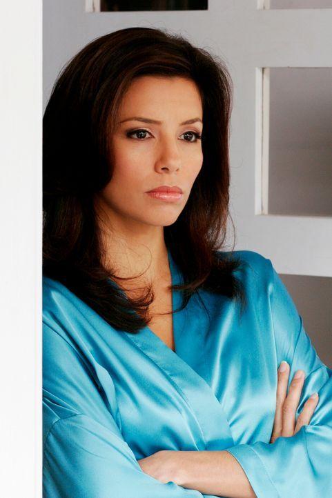 Gabrielle (Eva Longoria) ist entsetzt über Carlos' Entscheidung und ist bereit einen Kampf einzugehen ... - Bildquelle: 2005 Touchstone Television  All Rights Reserved