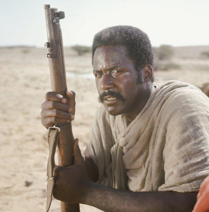 Als John Shaft (Richard Roundtree) in Äthiopien Bekanntschaft mit einem ost-afrikanischen Emir und dessen Schergen macht, wird er von ihnen entführt... - Bildquelle: Warner Bros. Television