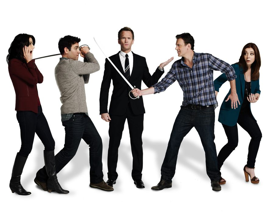 HIMYM - Staffel 9 - Promo Shoot8 - Bildquelle: 2013 CBS Broadcasting, Inc. All rights reserved.