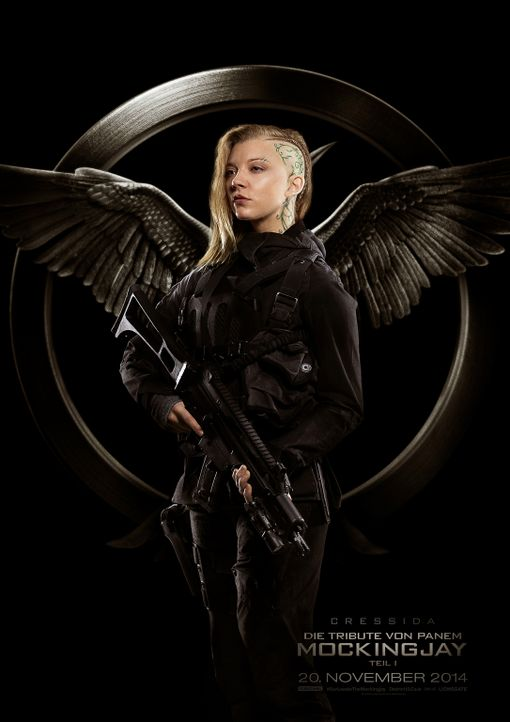 DIE TRIBUTE VON PANEM - MOCKINGJAY TEIL 1 - NATALIE DORMER - Bildquelle: TM &   2014 Lions Gate Entertainment Inc. All rights reserved.
