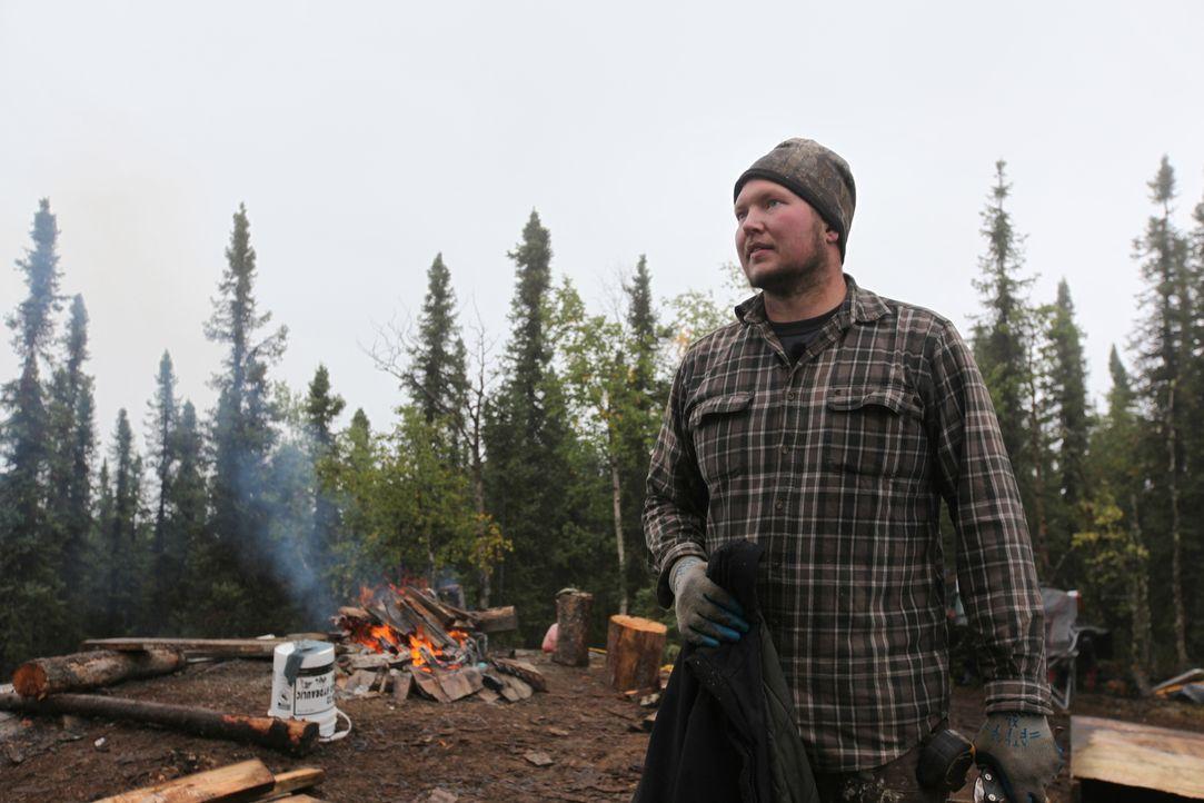 Das Leben in der Wildnis ist genau sein Ding, deshalb möchte Bruce 16 Meilen von der nächsten befahrbaren Straße am Nordpol ein Haus bauen ... - Bildquelle: 2015, DIY Network/Scripps Networks, LLC. All Rights Reserved.