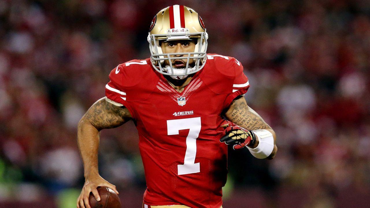 Sollte Colin Kaepernick einen Platz bei einem NFL-Team haben?  - Bildquelle: 2013 Getty Images