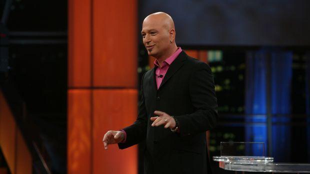 Der Moderator Howie Mandel (Howie Mandel) präsentiert seine erfolgreiche Show...