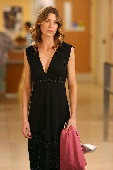 Meredith (Ellen Pompeo) ist zutiefst getroffen, als sie erfährt, dass Denny gestorben ist ... - Bildquelle: Touchstone Television