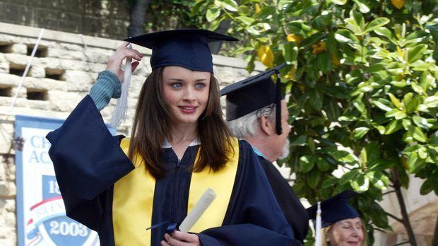 Während Rory (Alexis Bledel) eine Entscheidung trifft, die Lorelai ganz und g...