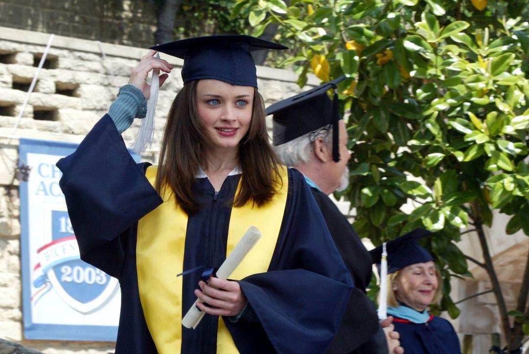 Während Rory (Alexis Bledel) eine Entscheidung trifft, die Lorelai ganz und gar nicht gefällt, plant Luke mit Nicole eine Kreuzfahrt ... - Bildquelle: 2002 Warner Bros.