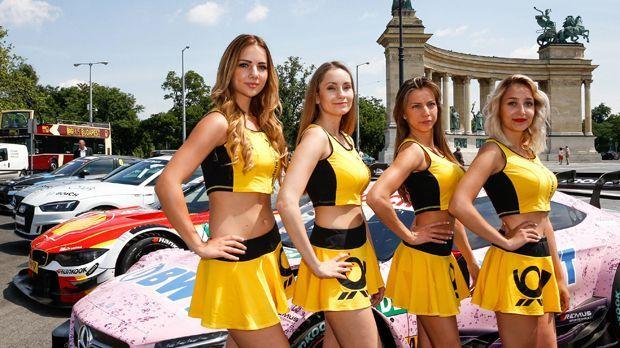 So sexy sind die Grid Girls in der DTM - Bildquelle: imago/HochZwei