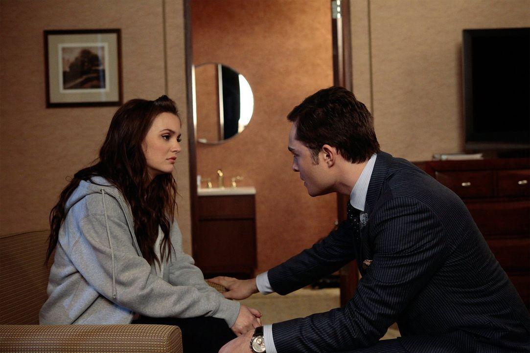 Wie wird es mit Chuck (Ed Westwick, r.) und Blair (Leighton Meester, l.) nur weitergehen? - Bildquelle: Warner Bros. Television