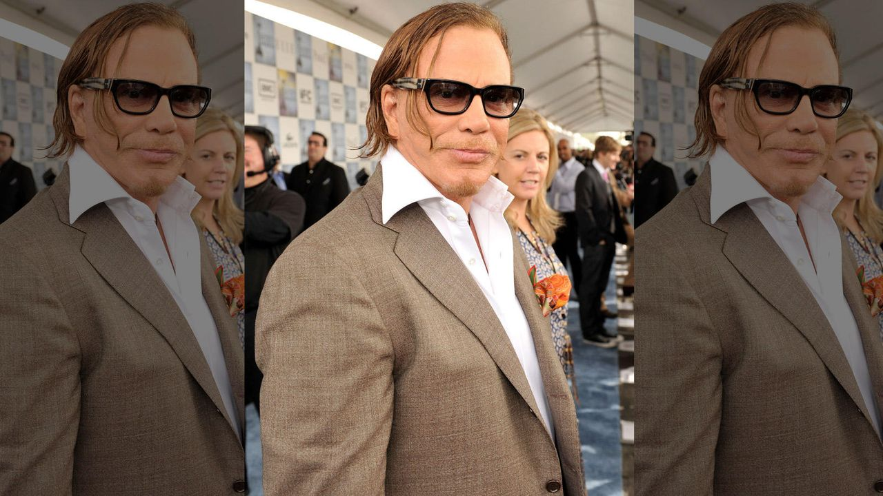 Mickey Rourke - Bildquelle: Getty/AFP