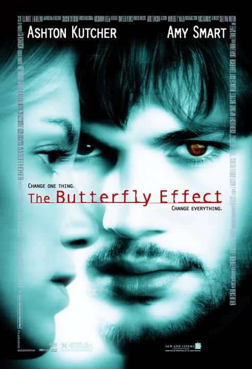 The Butterfly Effect - Plakatmotiv - Bildquelle: Warner Brothers
