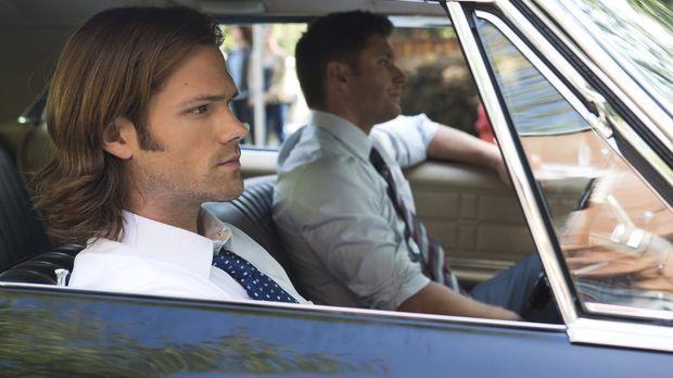 Noch ahnen Sam (Jared Padalecki, l.) und Dean (Jensen Ackles, r.) nicht, welc...
