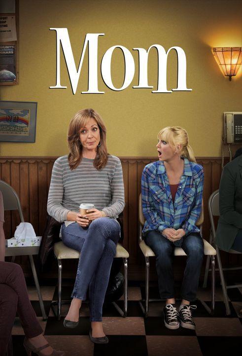 (2. Staffel) - Ihr turbulentes Leben geht in die nächste Runde: Christy (Anna Faris, r.) und Bonnie (Allison Janney, l.) - Bildquelle: Warner Bros. Television