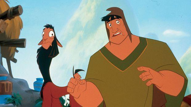 Ein Königreich für ein Lama - Das ungleiche Paar macht sich auf die Suche nac...