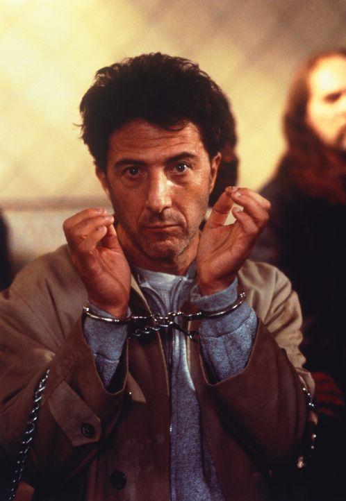Bernie Laplante (Dustin Hoffman) schlägt sich als harmloser Kleinkrimineller durch, als ein Flugzeugabsturz sein Leben verändert ... - Bildquelle: 1992 Columbia Pictures Industries, Inc. All Rights Reserved.