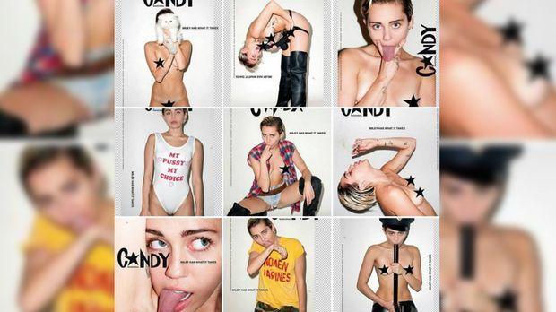 Myley Cyrus nackt Bilder