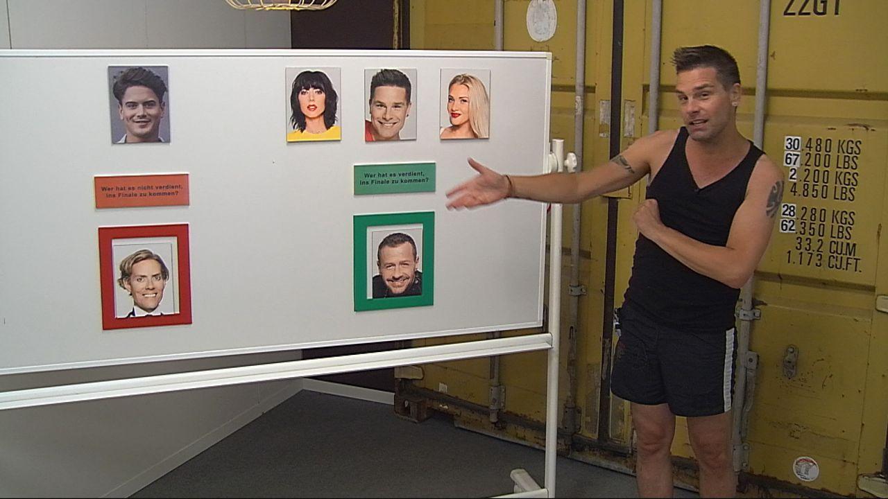 Eloy gönnt Jens den Einzug ins Finale nicht - Bildquelle: SAT.1
