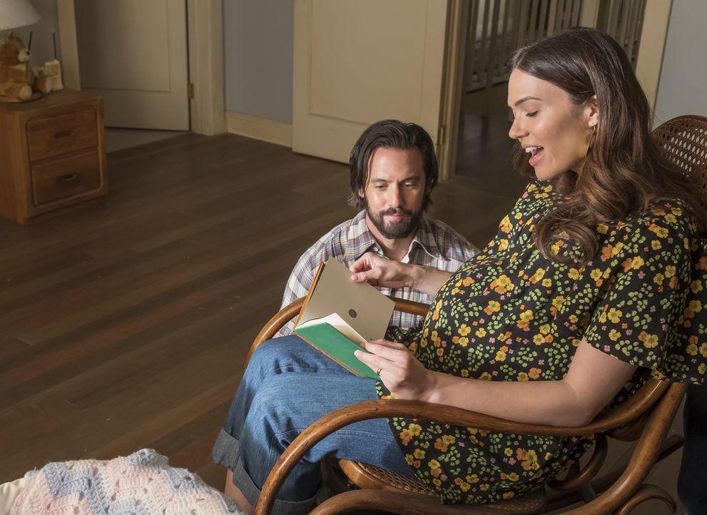(v.l.n.r.) Jack (Milo Ventimiglia); Rebecca (Mandy Moore) - Bildquelle: Ron Batzdorff 2017-2018 NBCUniversal Media, LLC.  All rights reserved.