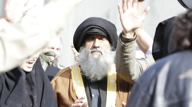 Nach einem Bombardement auf Beirut ruft der CIA-Direktor William Casey zur Ja...