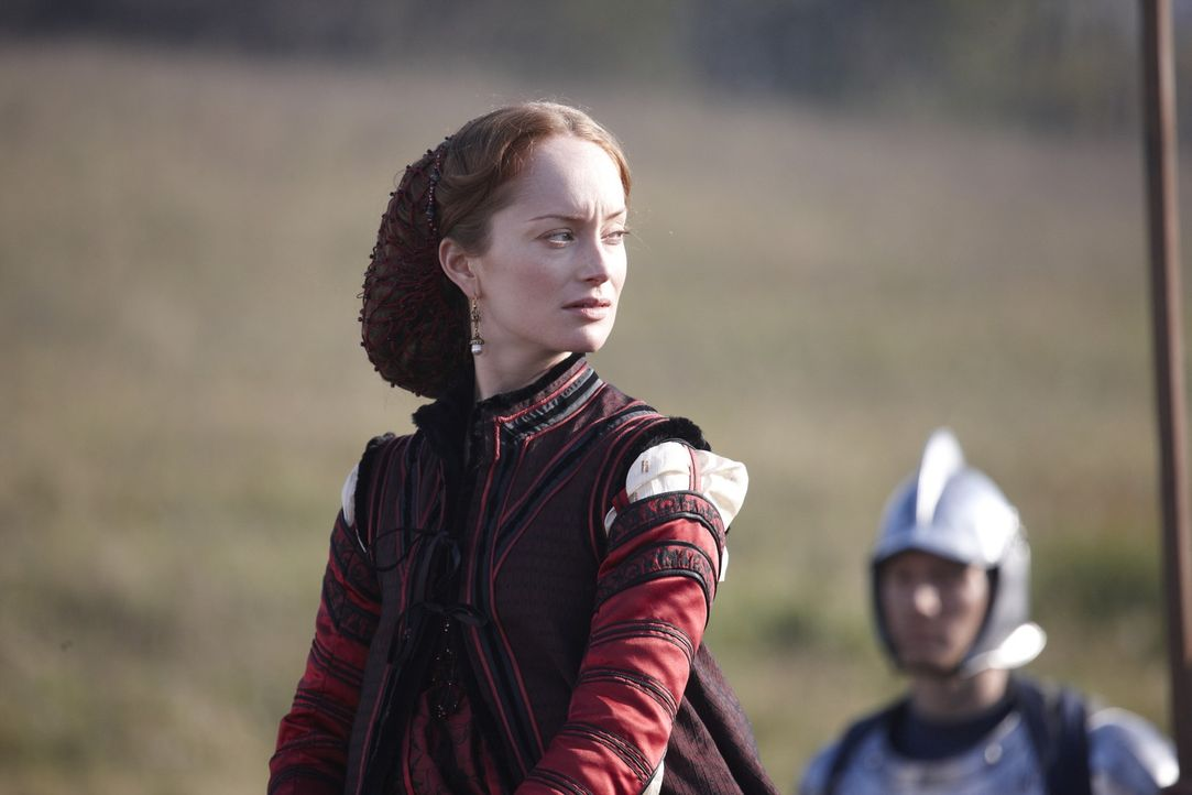 Erzählt niemandem, dass Lucrezia schwanger ist: Giulia Farnese (Lotte Verbeek) ... - Bildquelle: LB Television Productions Limited/Borgias Productions Inc./Borg Films kft/ An Ireland/Canada/Hungary Co-Production. All Rights Reserved.