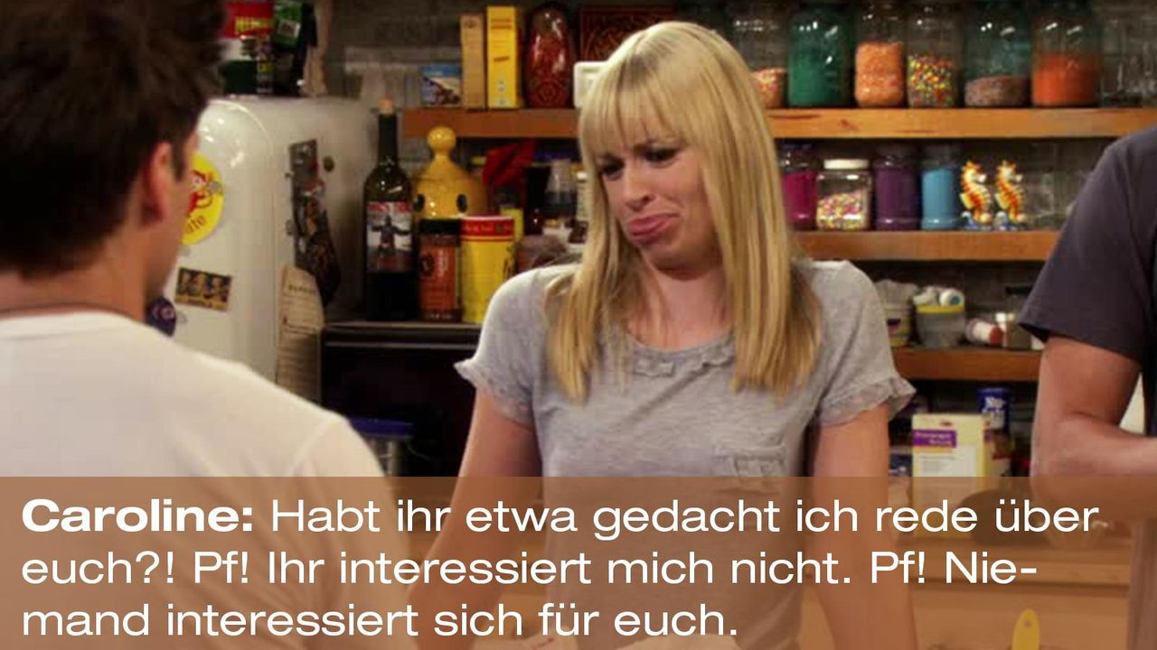 2-broke-girls-zitat-quote-staffel2-episode10-grosse-eroeffnung-caroline-pf-warnerpng 1600 x 900 - Bildquelle: Warner Bros. International Television