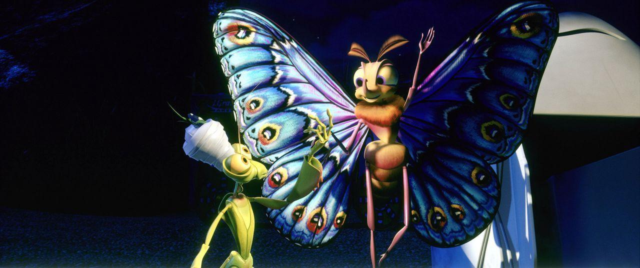 Ein unzertrennliches Team: Der pompöse Magiker Manny (l.) und seine bezaubernde Assistentin Gypsy (r.) - Bildquelle: Disney/Pixar