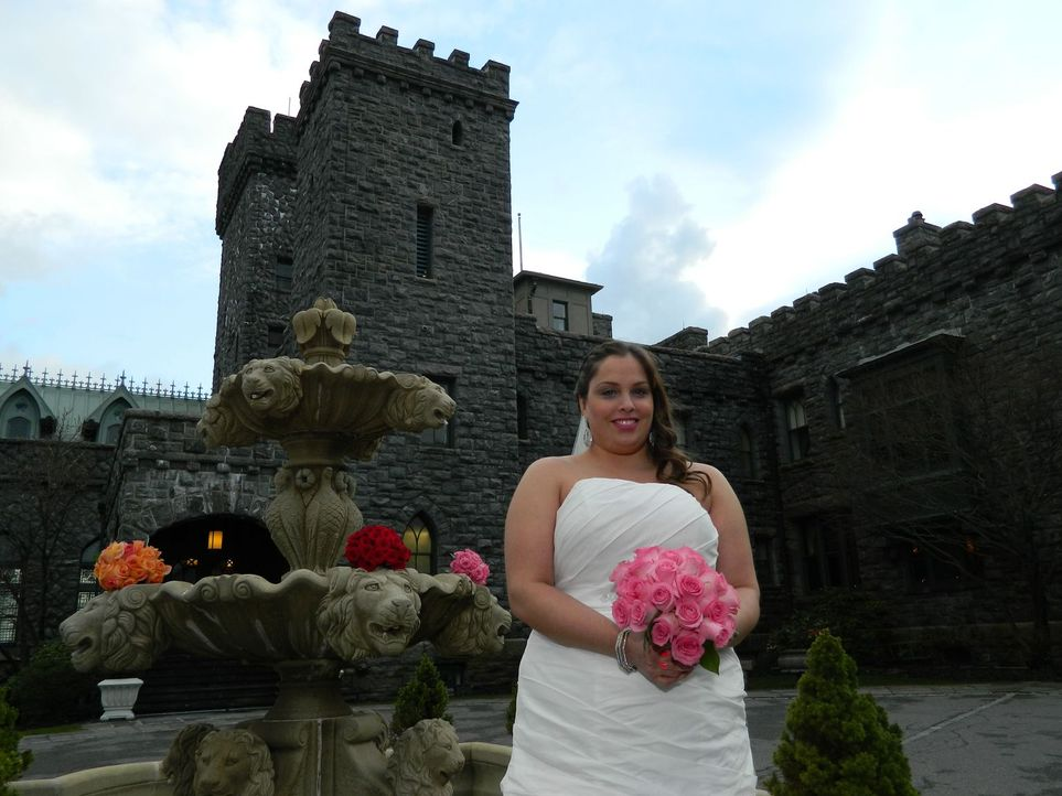 Chrissy ist davon überzeugt, dass ihre Hochzeit die beste sein wird. Sehen das ihre Konkurrentinnen genauso? - Bildquelle: Richard Vagg DCL