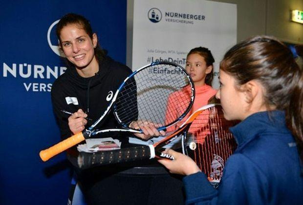 2017 spielte Julia Görges ihr bisher bestes Tennisjahr
