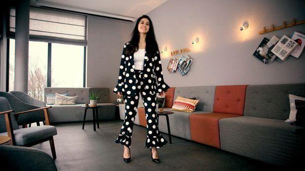 Polka Dots Topshop Anzug