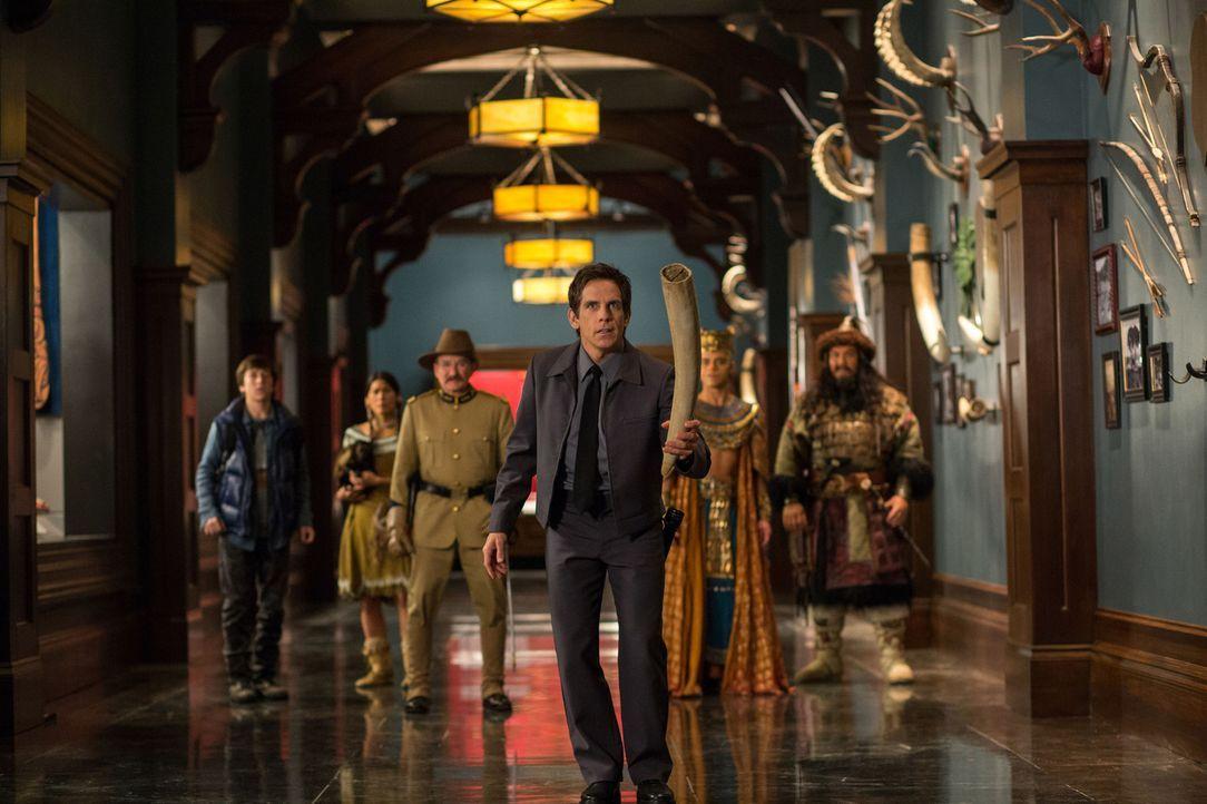 Nachts im Museum - Das geheimnisvolle Grabmal - Bildquelle: 2014 Twentieth Century Fox Film Corporation