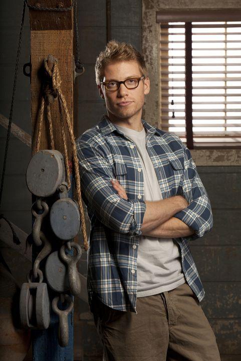 (2. Staffel) - Ein wichtiger Bestandteil des Teams: Eric Beal (Barrett Foa) ... - Bildquelle: CBS Studios Inc. All Rights Reserved.